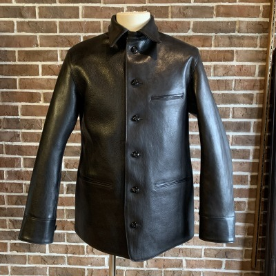 30\'s Leather Car Coat Gilmour_d0100143_14341330.jpg