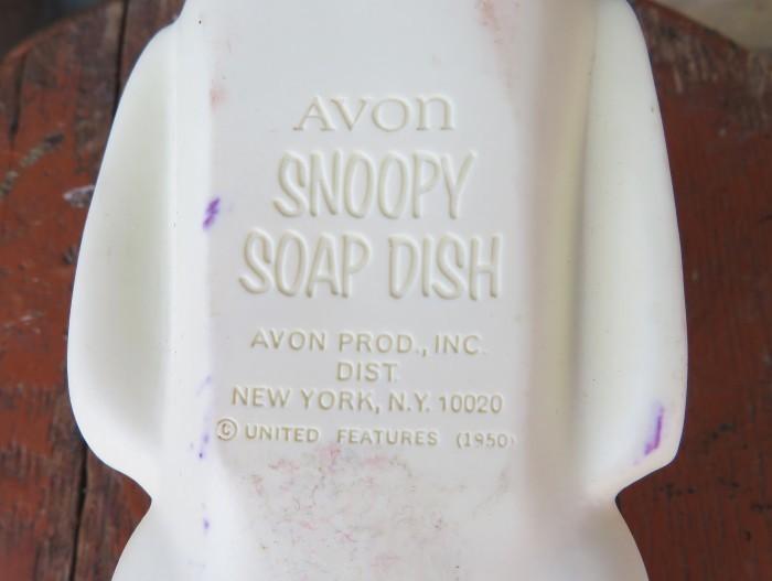 60\'s Snoopy Soap Dish_e0187362_11242443.jpg