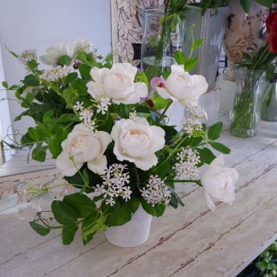 オークリーフ花の教室(前田さんの作品)_f0049672_18190825.jpg