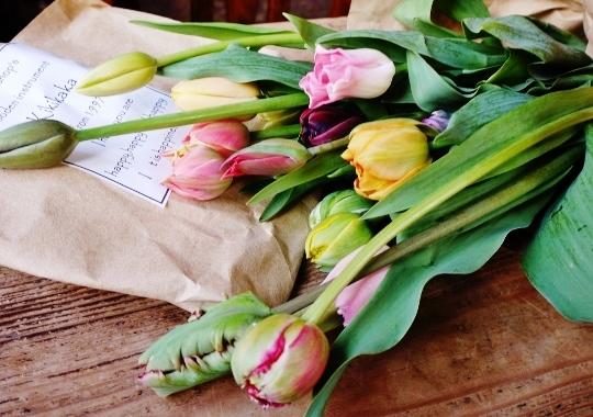 春が届く♪_e0167795_12320103.jpg