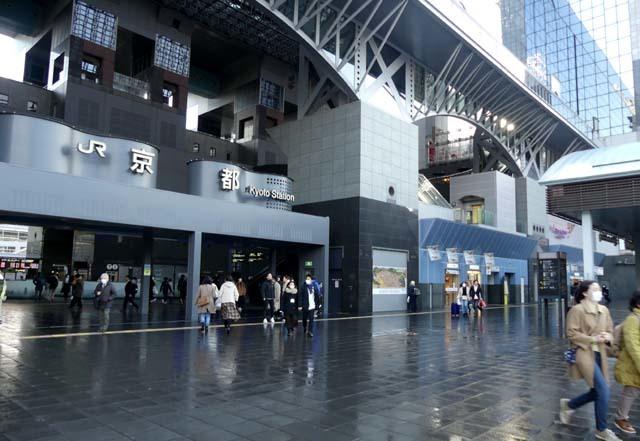 人がいない 京都駅_e0048413_21185679.jpg