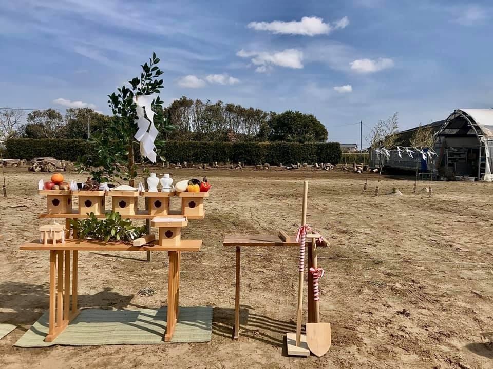 内科クリニックの地鎮祭でした in 千葉_e0029115_16075414.jpeg