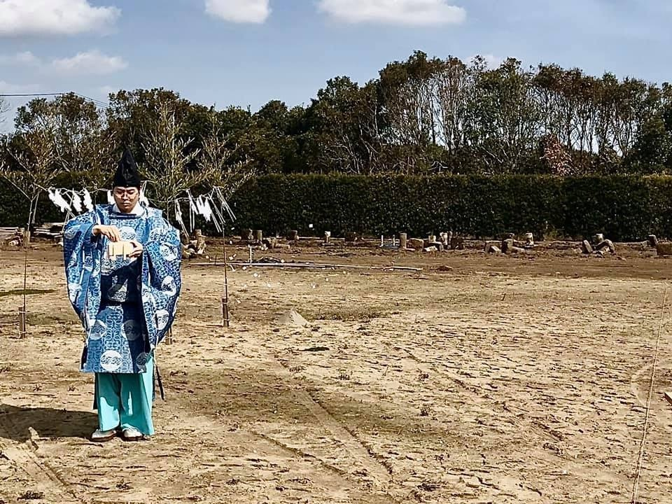 内科クリニックの地鎮祭でした in 千葉_e0029115_16083597.jpeg