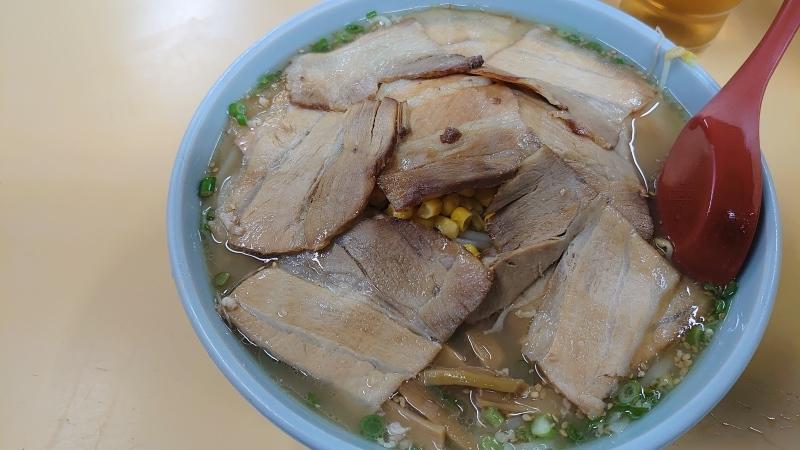 チャーシュー麺大盛、肉ダブル_c0391733_03021789.jpg