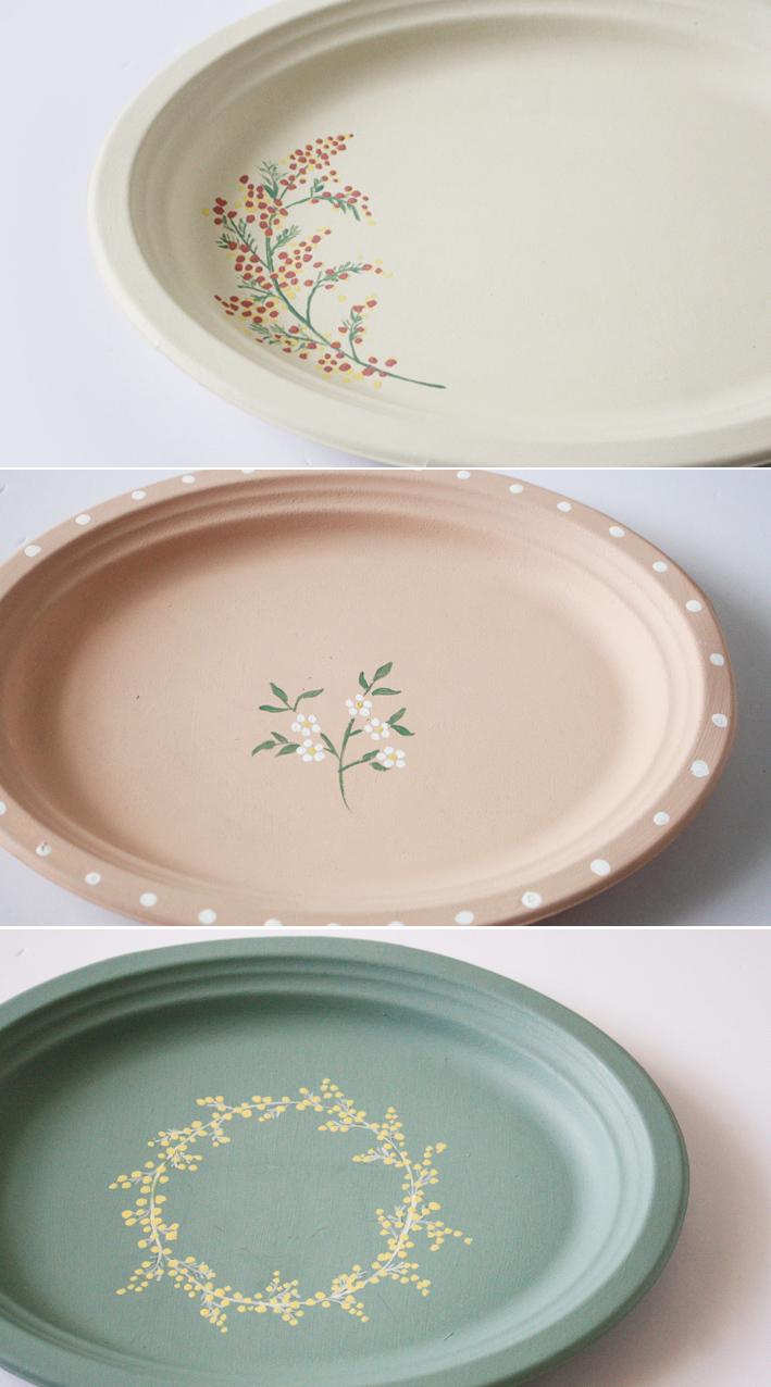 セリアの紙皿でつくる「ボタニカルプレート」_d0351435_09444212.jpg