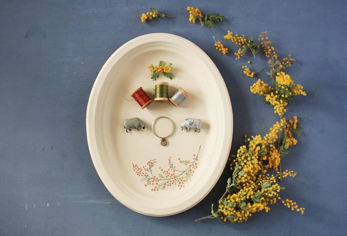 セリアの紙皿でつくる「ボタニカルプレート」_d0351435_09501259.jpg