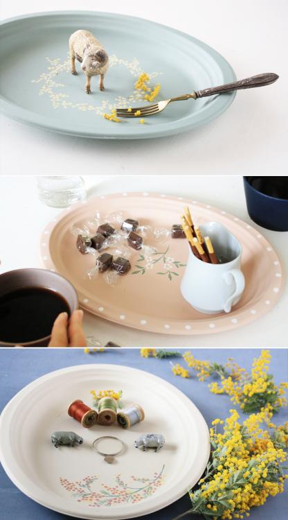 セリアの紙皿でつくる「ボタニカルプレート」_d0351435_09573977.jpg