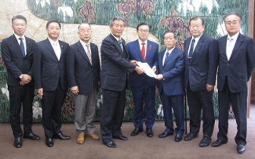 12月16日 農林水産関係の議員連盟が知事要望を実施_d0225737_00014336.jpg