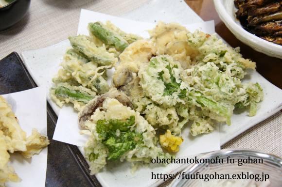 昨夜のおうち飲みは、天ぷら&今日の御出勤御膳&金管の甘露煮_c0326245_11442420.jpg