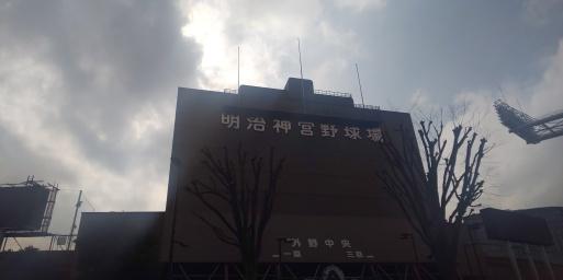 山田パンダ。今シーズンも巨人・ヤクルト戦の応援で訪れたいと願っている。_b0096957_20052085.jpg
