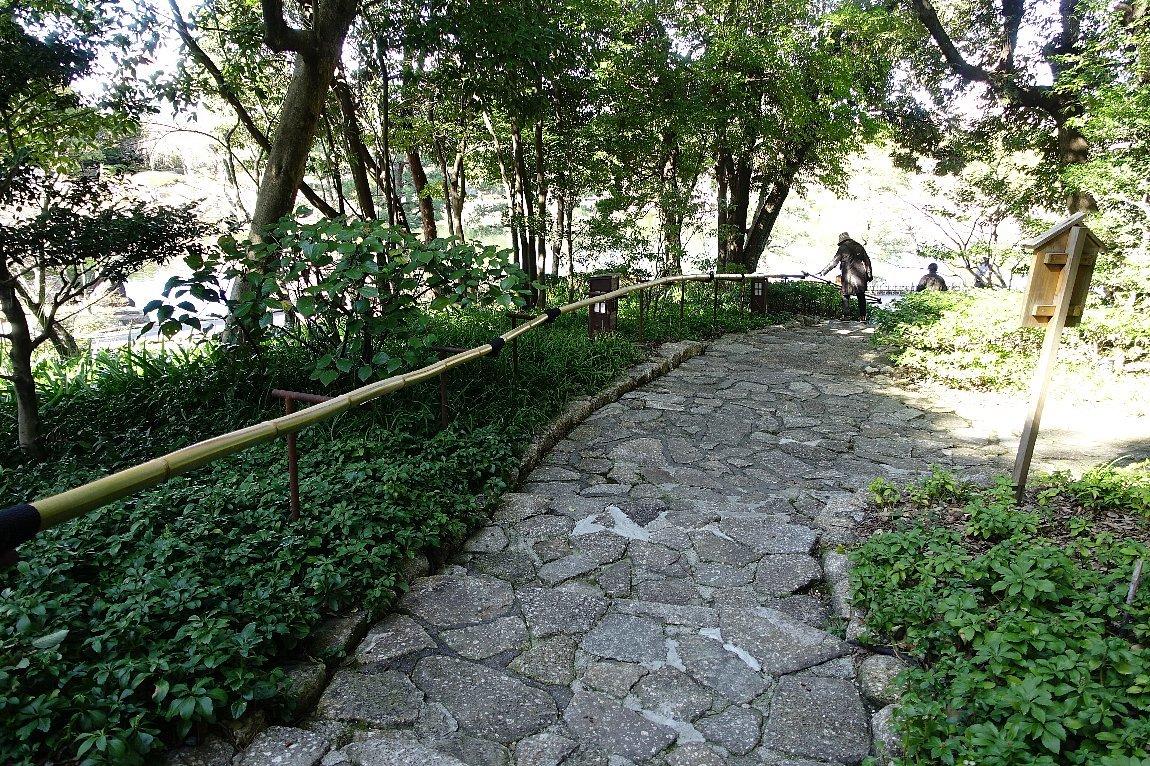 徳川園  龍門の瀧と大曽根の瀧_c0112559_08074275.jpg