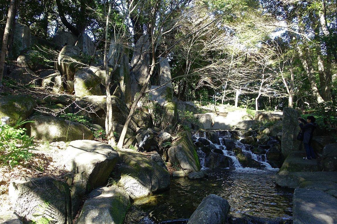 徳川園  龍門の瀧と大曽根の瀧_c0112559_08143657.jpg