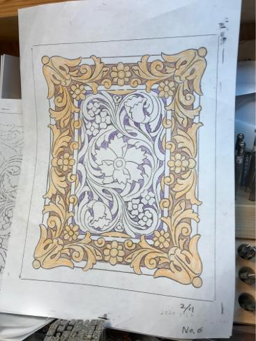 2020 Prescott Carving Contest 出品作品の製作過程(その1)_a0228364_12361905.jpg