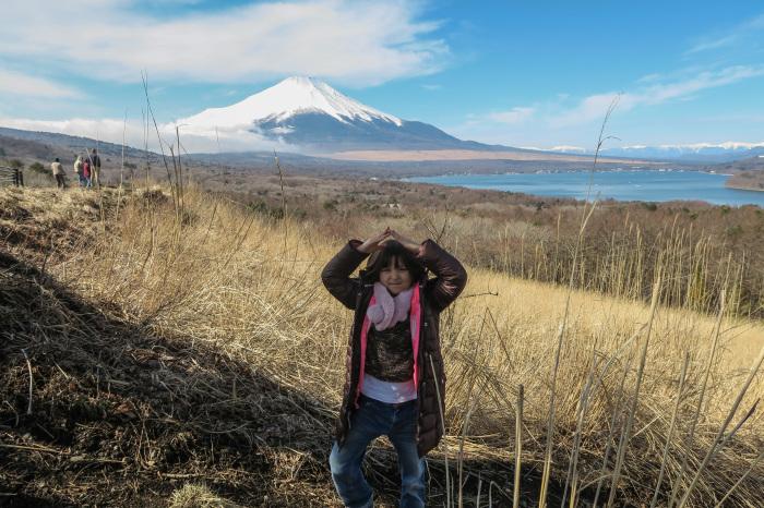 孫と富士山_a0307264_16253502.jpg