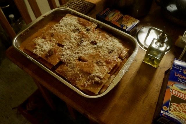 土曜日の拙宅晩餐、イタリアンだけどスパゲッティーなしよ。_c0180686_00525676.jpeg