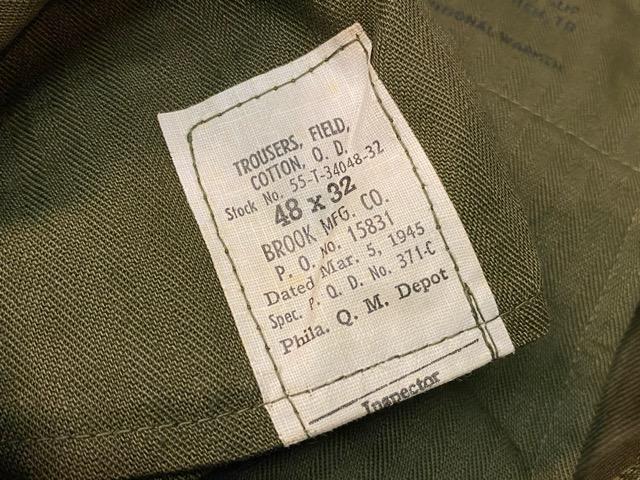 3月7日(土)マグネッツ大阪店スーペリア入荷!!#7 NOS 50\'s U.S Army M-51 ModifiedFieldPants編! ReconSlim & BasicStraight!!_c0078587_14484887.jpg
