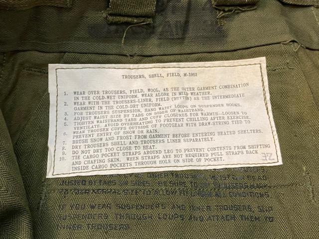 3月7日(土)マグネッツ大阪店スーペリア入荷!!#7 NOS 50\'s U.S Army M-51 ModifiedFieldPants編! ReconSlim & BasicStraight!!_c0078587_1452419.jpg