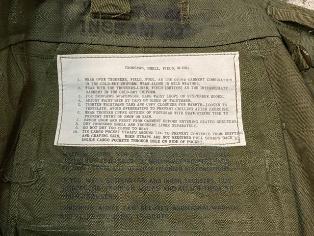 3月7日(土)マグネッツ大阪店スーペリア入荷!!#7 NOS 50\'s U.S Army M-51 ModifiedFieldPants編! ReconSlim & BasicStraight!!_c0078587_1553942.jpg