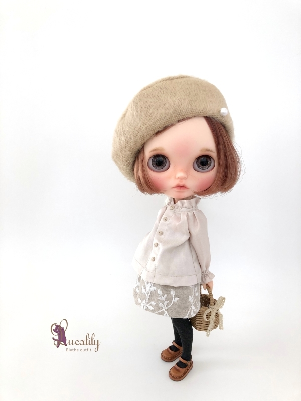 * lucalily * dolls clothes * Glittery cardigan set *_d0217189_11135414.jpg