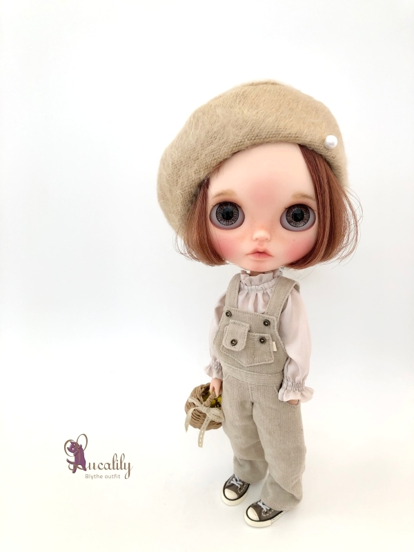 * lucalily * dolls clothes * Glittery cardigan set *_d0217189_11135733.jpg