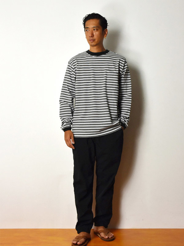 【DELIVERY】 STANDARD CALIFORNIA - Border Long Sleeve T_a0076701_18534626.jpg