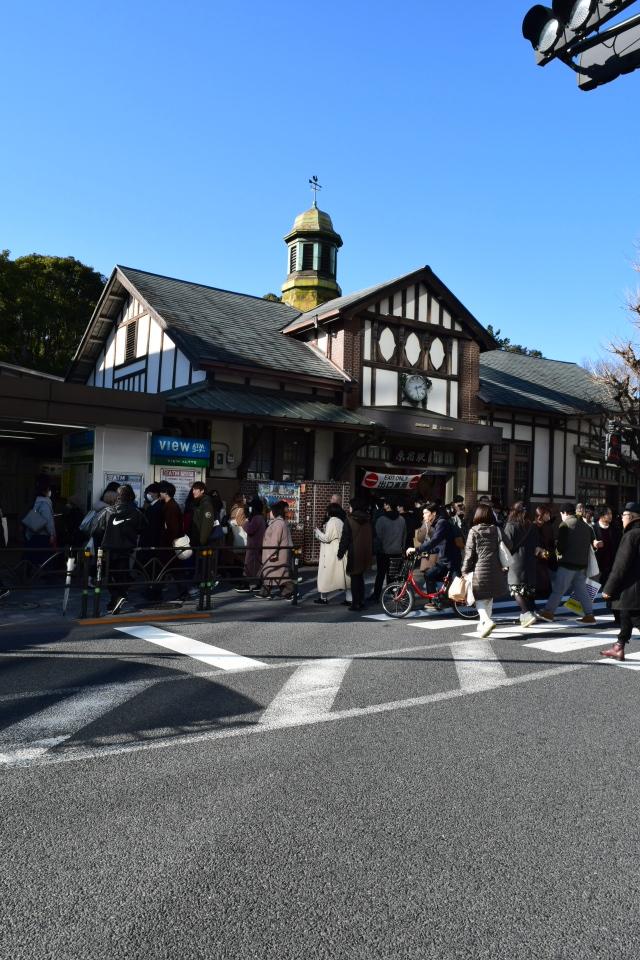 東京渋谷の原宿駅(大正モダン建築再訪)_f0142606_08394232.jpg