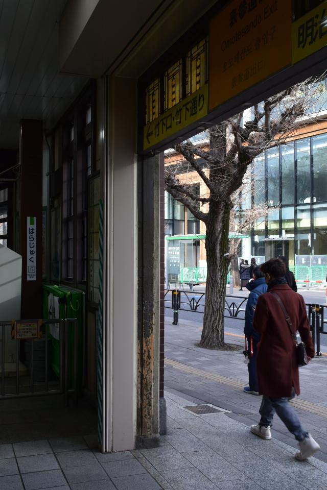 東京渋谷の原宿駅(大正モダン建築再訪)_f0142606_09130913.jpg