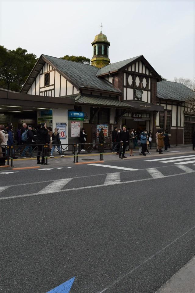 東京渋谷の原宿駅(大正モダン建築再訪)_f0142606_09143654.jpg