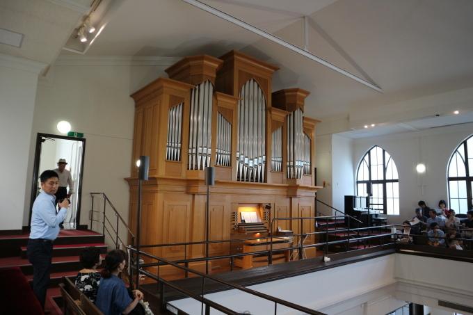 横浜指路教会で、パイプオルガン・コンサートを楽しみました!_e0146912_20464071.jpg