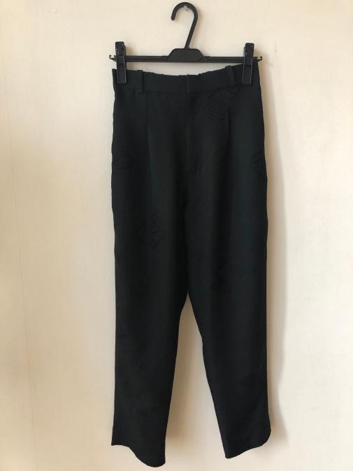着物着物リメイク・羽織とお着物からトップスとパンツのセットアップ_d0127925_19020333.jpg