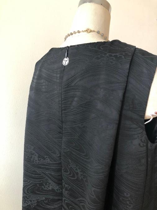 着物着物リメイク・羽織とお着物からトップスとパンツのセットアップ_d0127925_19020842.jpg