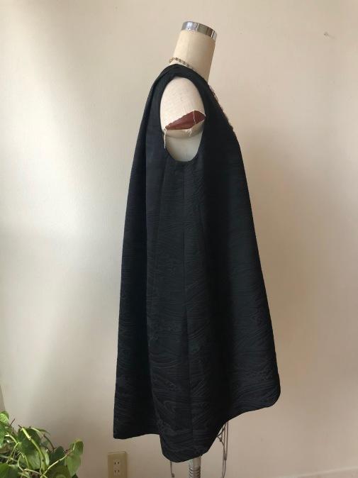 着物着物リメイク・羽織とお着物からトップスとパンツのセットアップ_d0127925_19021118.jpg