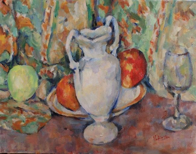 花瓶のある静物_c0236929_20092968.jpg