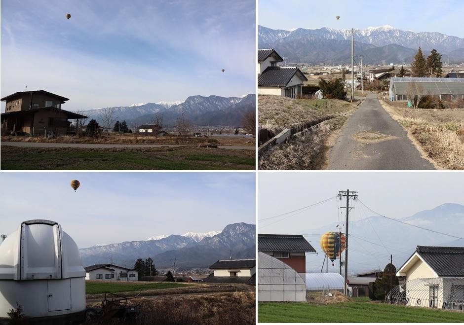 熱気球がダブルで_a0212730_19035224.jpg