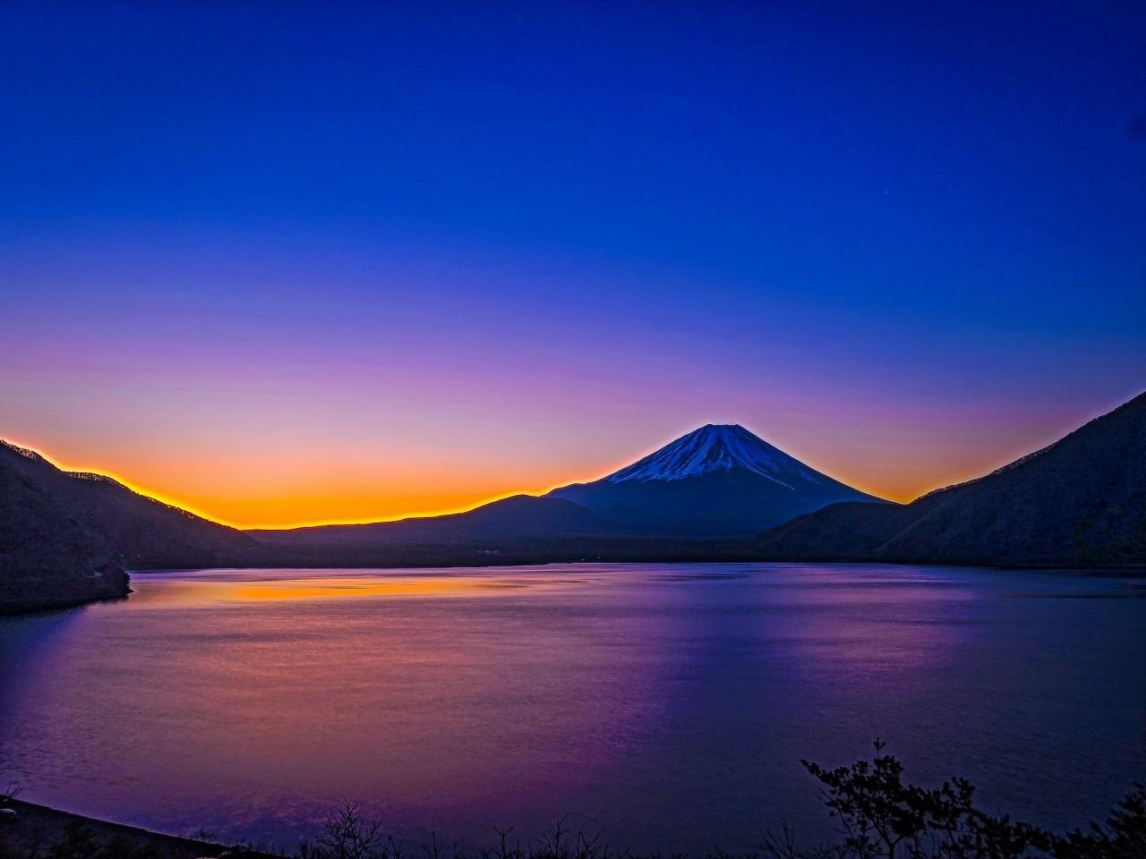2020.3.6早朝の富士山(本栖湖)_e0321032_15345046.jpg
