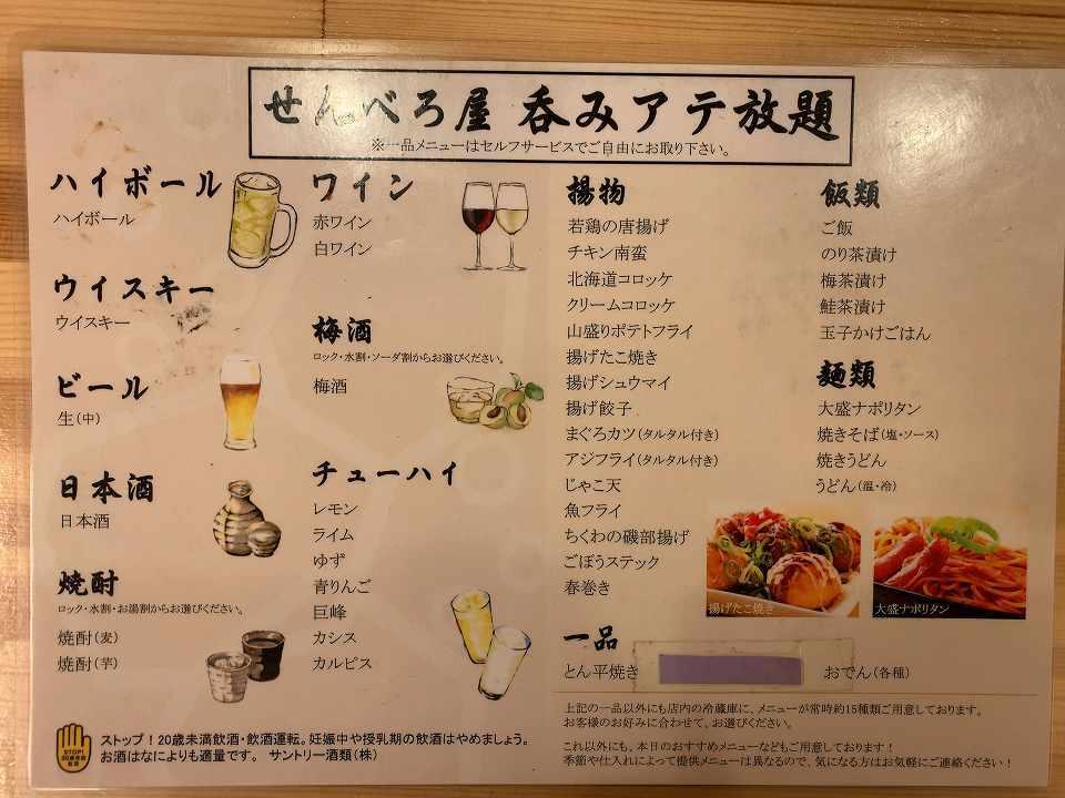 庄内の居酒屋「せんべろ屋」_e0173645_18541095.jpg