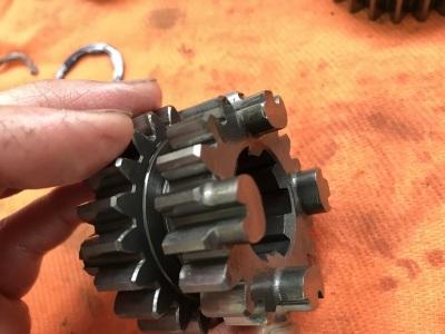 NSR MC21 焼き付き修理 ⓶_e0114857_10364597.jpg