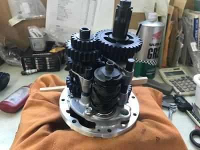 NSR MC21 焼き付き修理 ⓶_e0114857_10540885.jpg