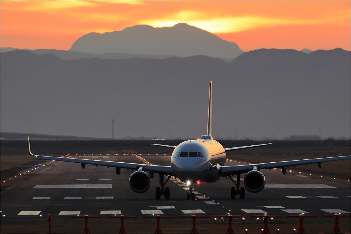 朝陽 2020 / 1 - 佐賀空港_c0308259_17241109.jpg