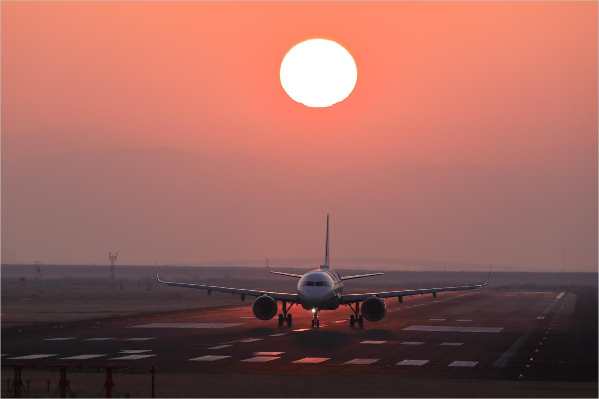 朝陽 2020 / 3 - 佐賀空港_c0308259_17592253.jpg