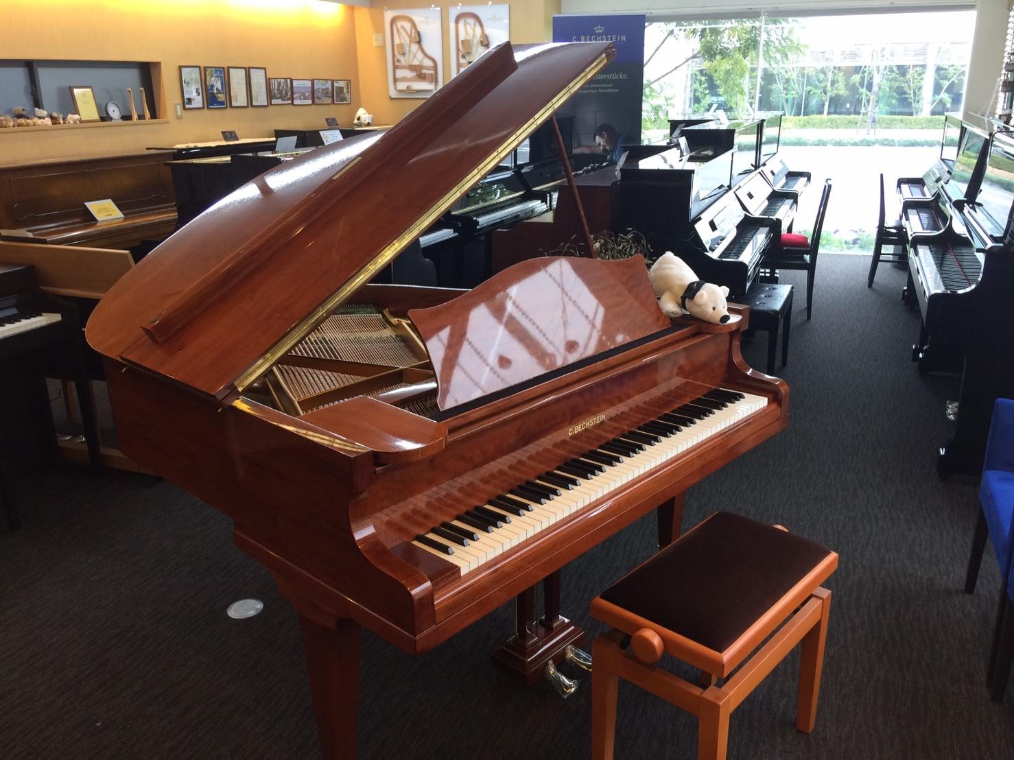 貴重なグランドピアノ ベヒシュタイン S型  入荷!_c0150287_16544563.jpg