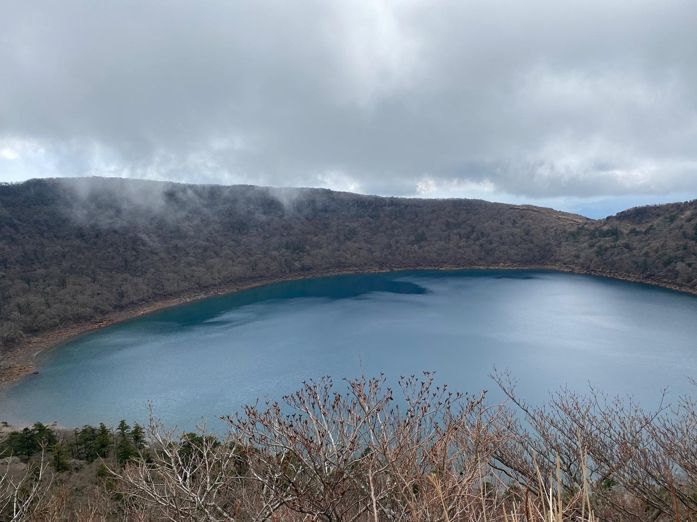 休みがあったら山登りin霧島(鹿児島)〜大浪池と韓国岳断念_f0232994_13403879.jpg