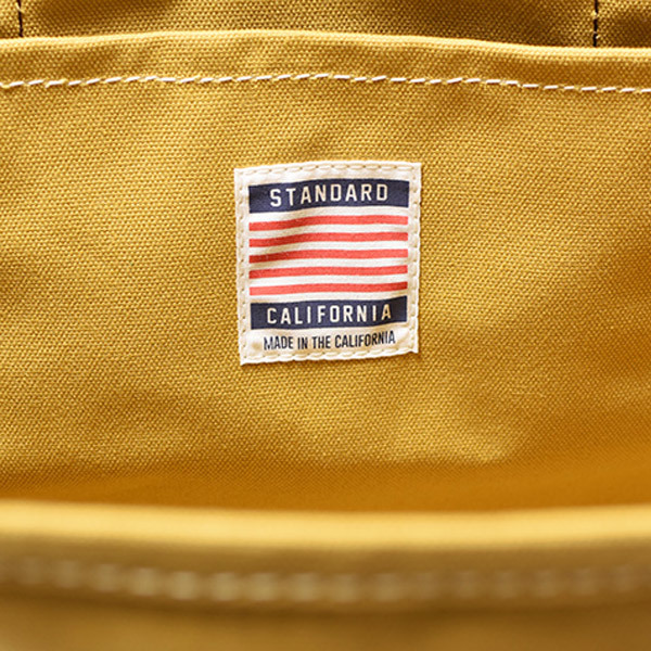 【DELIVERY】 STANDARD CALIFORNIA - Made in USA Swinging Canvas Tote Bag_a0076701_15260406.jpg