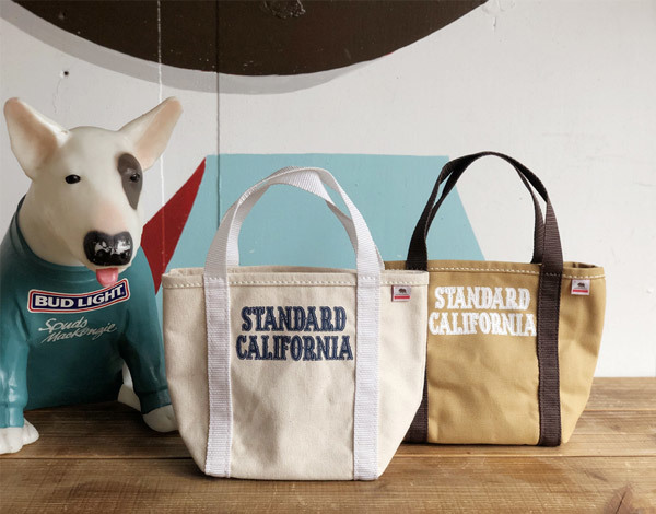 【DELIVERY】 STANDARD CALIFORNIA - Made in USA Stroll Canvas Tote Bag_a0076701_15295023.jpg