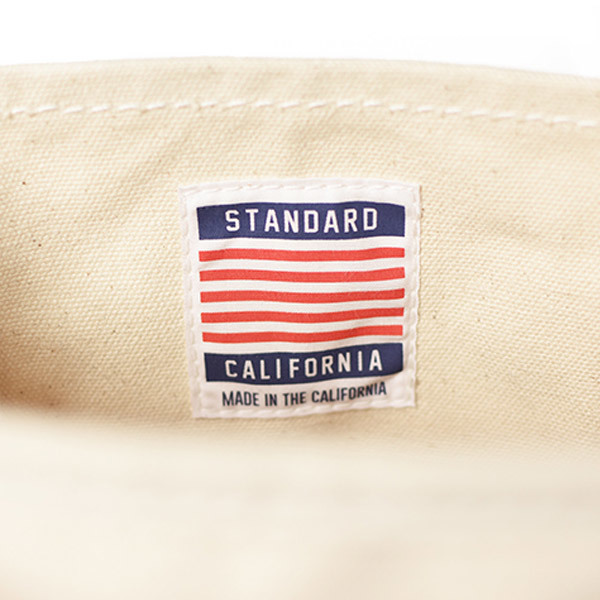 【DELIVERY】 STANDARD CALIFORNIA - Made in USA Stroll Canvas Tote Bag_a0076701_15334869.jpg