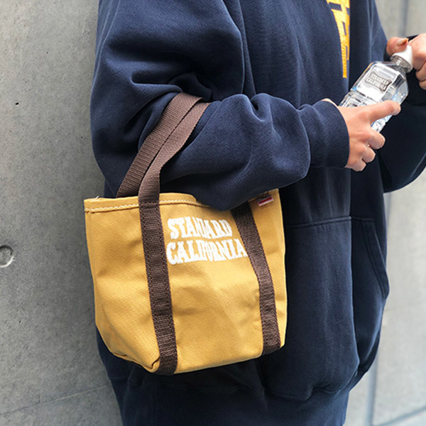 【DELIVERY】 STANDARD CALIFORNIA - Made in USA Stroll Canvas Tote Bag_a0076701_15345362.jpg