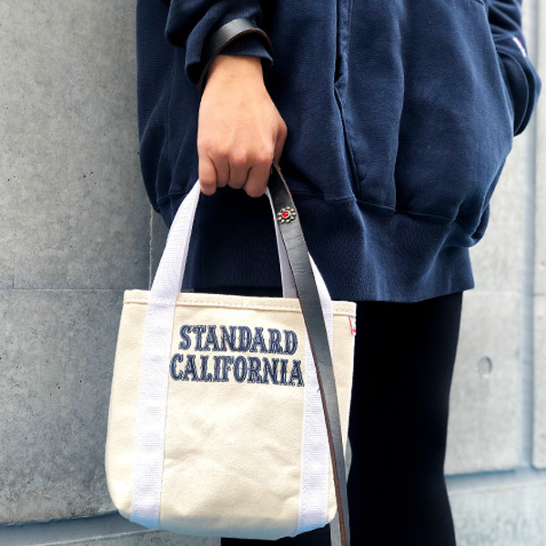 【DELIVERY】 STANDARD CALIFORNIA - Made in USA Stroll Canvas Tote Bag_a0076701_15350740.jpg