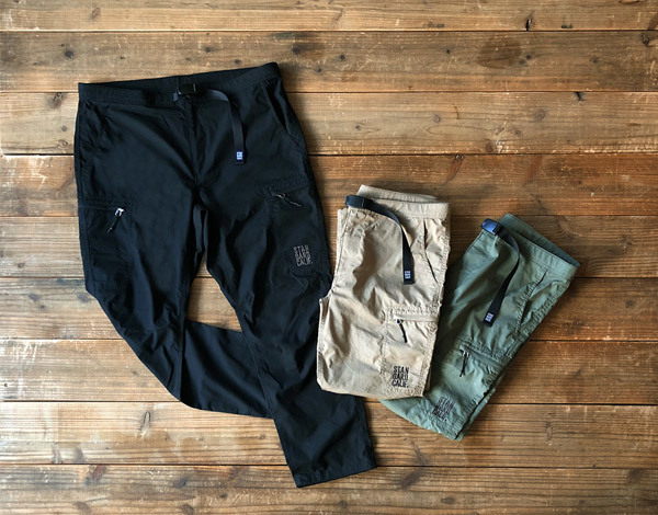 【DELIVERY】 STANDARD CALIFORNIA - Coolmax Stretch Ripstop Easy Cargo Pants_a0076701_15373569.jpg