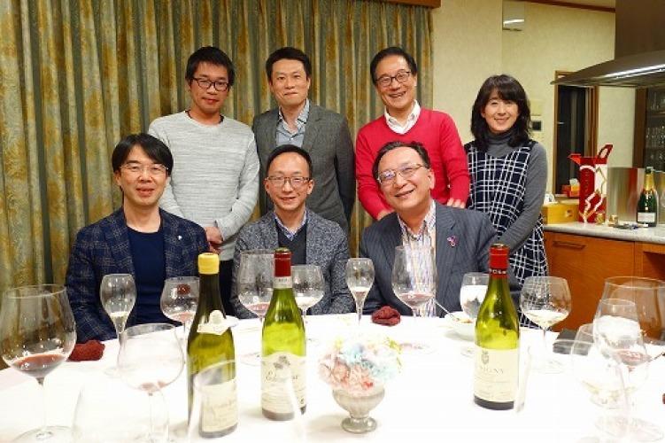我が家でのワイン会_a0152501_07284710.jpg