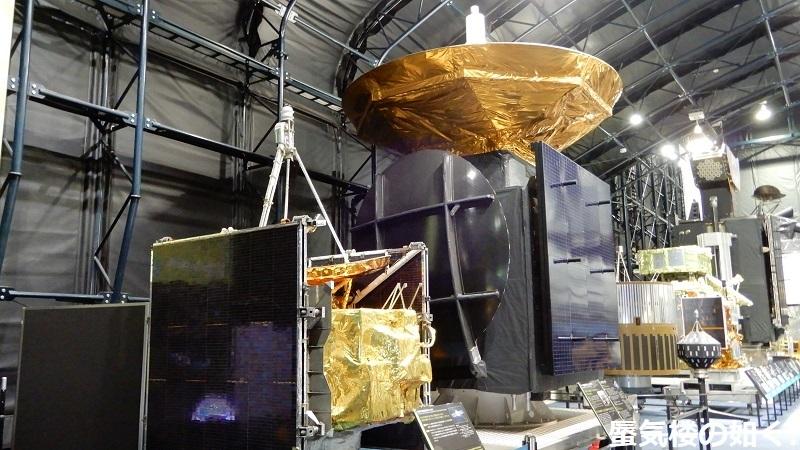 「恋する小惑星」舞台探訪004-2/3 第4話 筑波宇宙センター展示室スペースドームと見学ツアー_e0304702_06060165.jpg